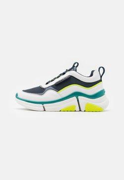 KARL LAGERFELD - VENTURE LAZARUS LOOP MIX - Sneaker low - white/navy