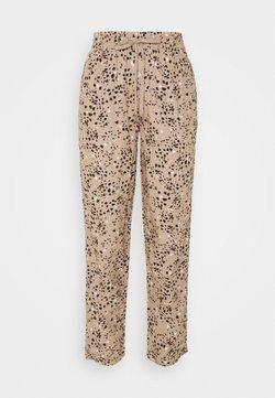 Marks & Spencer London - TAP PRINT - Pantalones - light brown