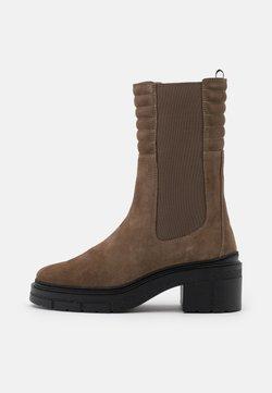 Unisa - JINA - Platform boots - taupe
