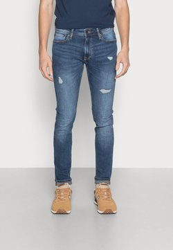 Jack & Jones - JJILIAM JJORIGINAL  - Jeans Slim Fit - blue denim