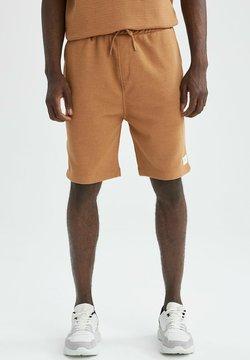 DeFacto - RELAX FIT - Pantalones deportivos - beige