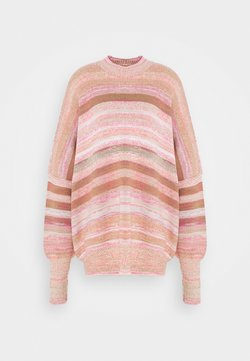 Free People - EASY STREET SPACE DYE - Maglione - sand/sugar combo