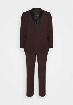 Isaac Dewhirst - THE TUX  - Anzug - bordeaux