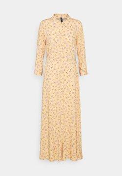 YAS - YASLUNALA LONG DRESS  - Maxi-jurk - golden straw