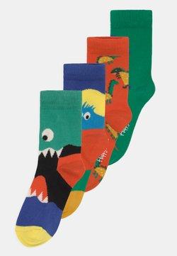 Happy Socks - MONSTERS & DINOS 4 PACK UNISEX - Calcetines - multi-coloured
