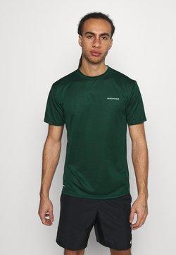 Endurance - VERNON PERFORMANCE TEE - Camiseta básica - ponderosa pine