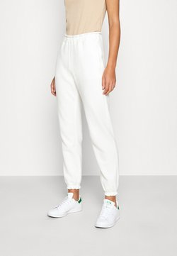 Abercrombie & Fitch - LOGO JOGGER - Jogginghose - white