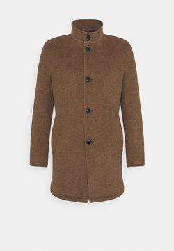 Bruun & Stengade - Klasyczny płaszcz - camel