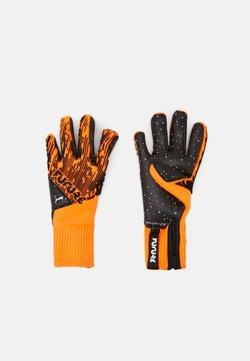 Puma - FUTURE GRIP HYBRID UNISEX - Torwarthandschuh - shocking orange/black/white