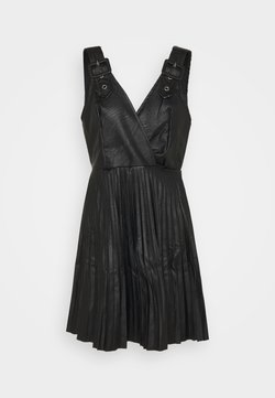 WAL G. - NAIROBI PLEATED DRESS - Juhlamekko - black