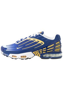 Nike Sportswear - AIR MAX PLUS III - Sneakers laag - deep royal/topaz gold/white