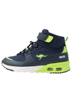 KangaROOS - KX-HYDRO - Sneakers hoog - dark navy/lime
