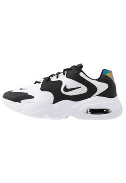 Nike Sportswear - AIR MAX 2X - Sneakersy niskie - white/black