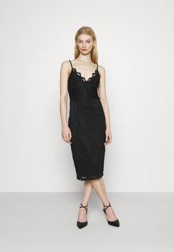Vila - VISTASIA STRAP DRESS - Cocktailkleid/festliches Kleid - black