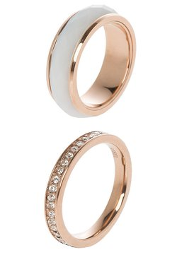 Fossil - CLASSICS - Ring - rosegold-coloured