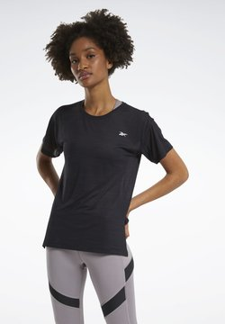 Reebok - WORKOUT READY ACTIVCHILL T-SHIRT - Funktionsshirt - black