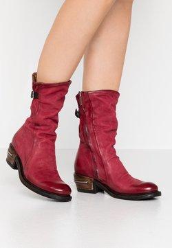 A.S.98 - Cowboy/Biker boots - cardinal/testa di moro