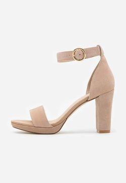 Anna Field - LEATHER - High Heel Sandalette - beige