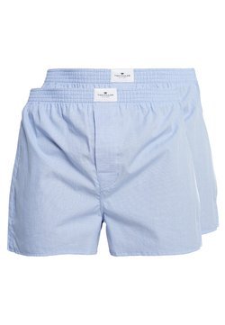 TOM TAILOR - WESTSIDE 2 PACK - Boxershorts - hellblau