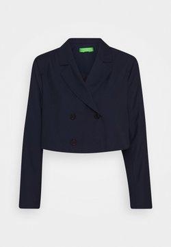 Who What Wear - CROPPED JACKET - Blazer - true navy