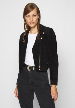 Freaky Nation - Leather jacket - black