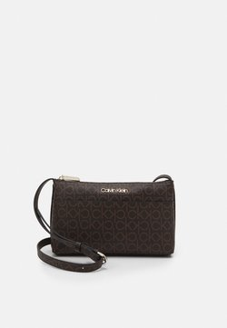 Calvin Klein - XBODY MONOGRAM - Across body bag - brown