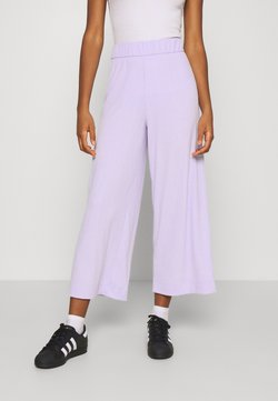 Monki - CILLA TROUSERS - Jogginghose - lilac