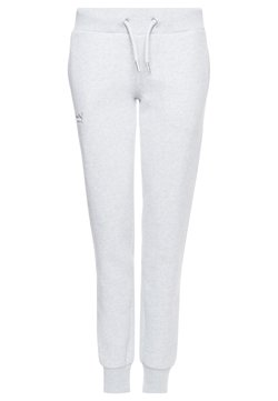 Superdry - Jogginghose - light grey marl