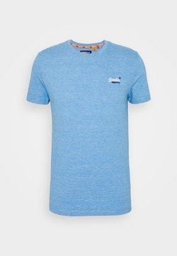 Superdry - VINTAGE CREW - T-shirt basic - royal blue feeder