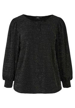 Zizzi - MIT SCHIMMER - Bluse - black