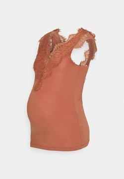 Pieces Maternity - PCMIU - Top - copper brown
