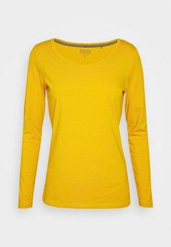 Esprit - Pitkähihainen paita - brass yellow