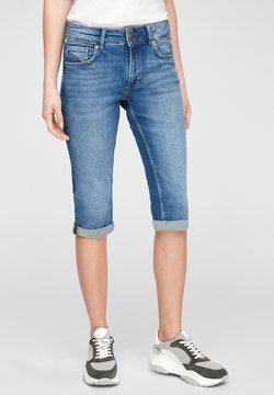 Q/S designed by - Jeans Shorts - medium blue