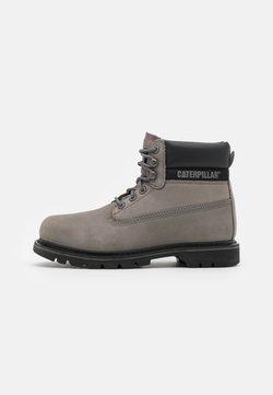 Cat Footwear - COLORADO  - Schnürstiefelette - medium charcoal