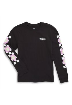 Vans - GR BLOOM CHECKZ - Pitkähihainen paita - black