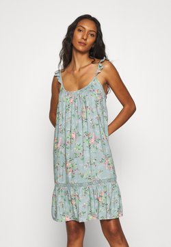 Marks & Spencer London - FLORAL CHEMISE - Nachthemd - aqua mix