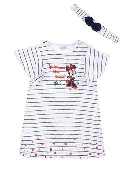 Mickey & Minnie - DISNEY MINNIE MOUSE SET - Jerseykleid - dunkel blau