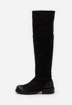 Felmini - COOPER - Overknee laarzen - nirvan nero