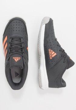 adidas Performance - Zapatillas de balonmano - grey six/signal coral/grey two