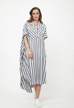 Madam-T - KORNA - Maxikleid - schwarz/weiß