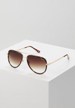 QUAY AUSTRALIA - ALL IN MINI - Gafas de sol - mottled brown