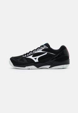 Mizuno - CYCLONE SPEED 2 - Scarpe da tennis per tutte le superfici - black/white/divablue