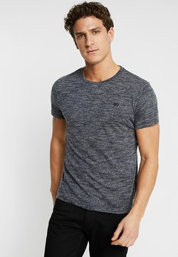 TOM TAILOR DENIM - T-shirt basic - space dye blue