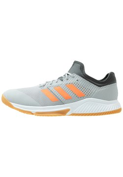 adidas Performance - COURT TEAM BOUNCE - Zapatillas de balonmano - grey two/signal coral/grey six