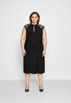 Vero Moda Curve - VMMILLA SHORT DRESS  - Sukienka koktajlowa - black