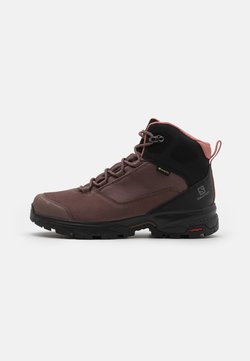 Salomon - OUTWARD GTX - Vaelluskengät - peppercorn/black/brick dust