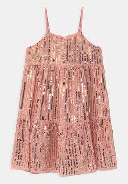 Cotton On - BIANCA - Cocktailkleid/festliches Kleid - dusty pink/gold sparkle