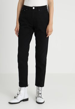 Lost Ink - VINTAGE MOM - Relaxed fit jeans - black