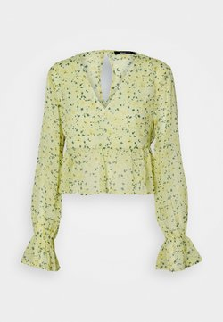 Gina Tricot - EXCLUSIVE ARCHER - Bluse - yellow