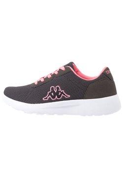 Kappa - TUNES - Sportschoenen - grey/flamingo